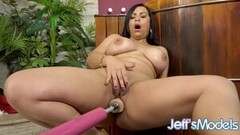 Naughty London Keyes's Phone Booth Anal Fun! Thumb