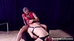 Cute European MILF Gets Rough Hard Sex and Super Deep Throat Thumb