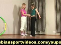 Nude lesbian gymnastics and strapon fucking Thumb
