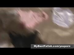 Handjob with panty - part1of2 - Mybestfetish Thumb