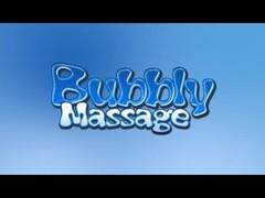 Pornstar Gives Soapy Bubbly Massage Thumb