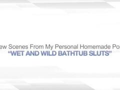 WET AND WILD BATHTUB BABES – HUGE BOOBS BLONDE Thumb