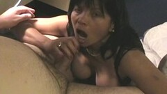 Naughty Japanese girl plays with her pussy while some boys peep Thumb