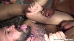 DOPPEL ANAL - German double anal latina gangbang Thumb