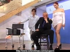 HOT RedHead fucked by a Machine! Thumb