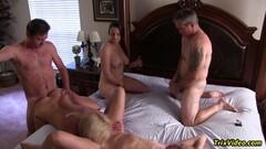 Glamkore - Lovita seduces her stepdad with hot striptease Thumb