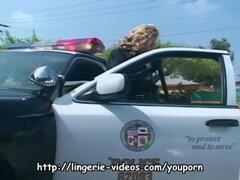 Pretty female cop fucking Thumb