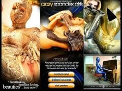 Glamourbabe in fullbody spandex Thumb