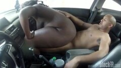 Black Angelica in gonzo messy creampie Thumb