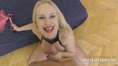 Sexy naughty lady has sex for free ride Thumb