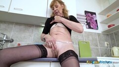 EuropeMaturE Hot Mature Milf Solo Pussy Play Thumb