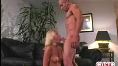 Blonde Honey Mean Cock Sucking Thumb
