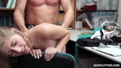 Housewife Lya Pink fucks in front of husband Thumb