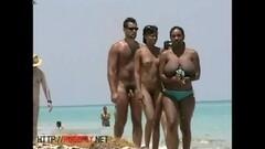 beach babes crotch shot big tits voyeur video Thumb