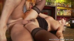 Sizzling blonde gets her ass drilled Thumb