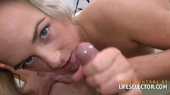 Milf gobbles down this hard cock Thumb