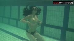 Kinky Underwater erotics and gymnastics Thumb