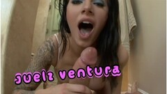 Blonde milf in vinyl boots gets assfucked Thumb