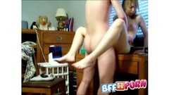 Tricky Monica Saige getting her wet pussy fuck doggystyle Thumb