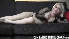 Hot blonde Barbie Cummings takes a creampie Thumb