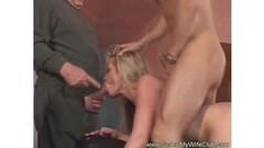 German Lesbians Bukkake Orgy Thumb