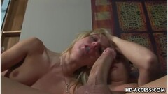 top model gives handjobs  - cumshots Thumb