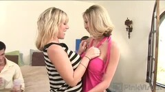 Dildo + Vibrator A Perfect Combination For These Teen Lesbians Thumb