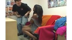 Aris Dark & Jimena Lago lesbians with boys from audience SEB Thumb