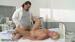 Horny blonde Kodi Gamble a guy gets to suck her bigtits and ram her twat Thumb