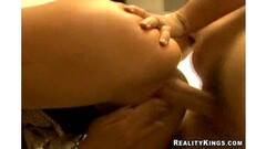 Nika gets banged all over her office. Thumb