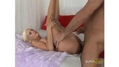 Puma Swede takes a facial shot Thumb