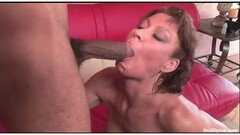 Horny milf Vanessa tries really big black cock Thumb