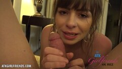 Steamy Cum in Alex Blake's juicy mouth (POV Style) Thumb