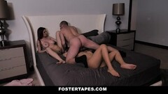 Frisky Foster Parents Fuck Naughty Asian With Bad Behavior Thumb