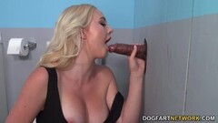 Hot BBC Beauty Paisley Porter Gets Creampied At A Gloryhole Thumb