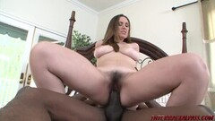 Naughty Rucca with her Big Natural Tits takes BBC Hard and Deep Thumb