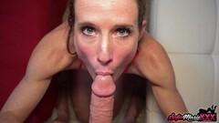 Naughty MILF Sofie Marie Sucks Huge Dick In POV Thumb