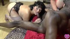 Naughty Juicy Babes Share Black Dong Thumb