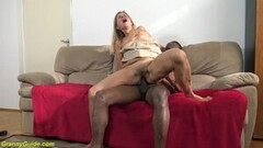 Petite Blonde Fucks Stranger wth Big Cock Thumb