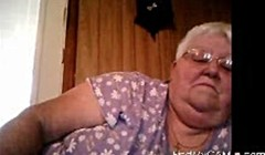 Webcam show from BBW Granny Thumb