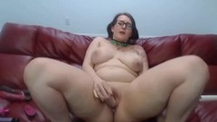 Chubby young squirter Scarlette wanna be spanked n fucked Thumb