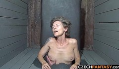MILF Czech Amateur Girls Tied Up and Fucked Thumb