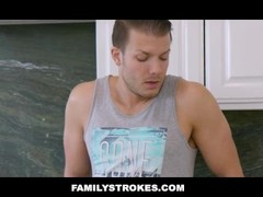 FamilyStrokes - Vanna Bardot Fucked By Her Hung Step Brother Thumb