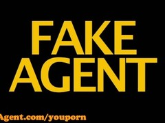 FakeAgent HD Amazing anal creampie casting Thumb