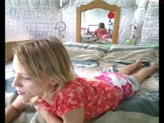 Lapdance by hot and slim blonde Thumb