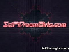 SciFiDreamgirls Fembot Sex With Ashley Fires. Episode #8: Masturbation Programming Thumb