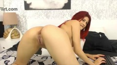 Young redhead little slut with sexy heels fucks a red pussy.ssil.mp4 Thumb