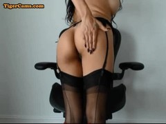 Babe In Sexy Stockings Thumb