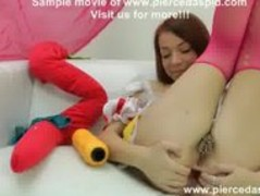 Snow white with pierced pussy and huge anal hole Thumb