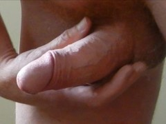 Orgasmus - Orgasm 40th - close-up slomo - wank and cum - Wichsen und spritzen Thumb